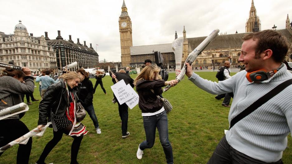 UK newspaper fight