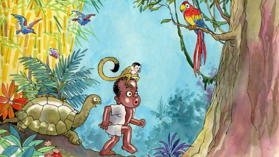 Cocori children's book about black Costa Rican boy