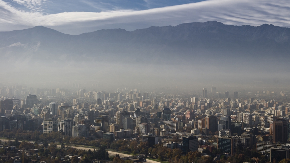 Santiago, Chile pollution