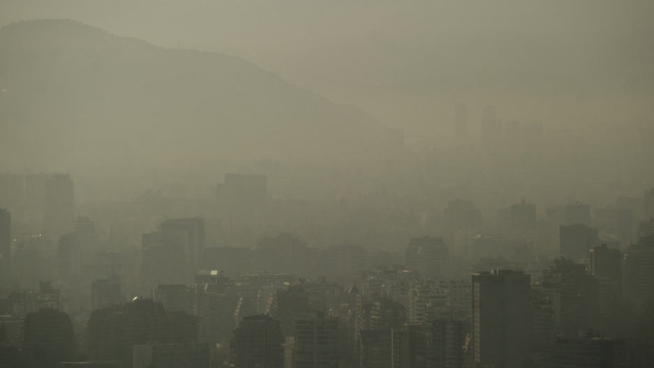 Chile pollution
