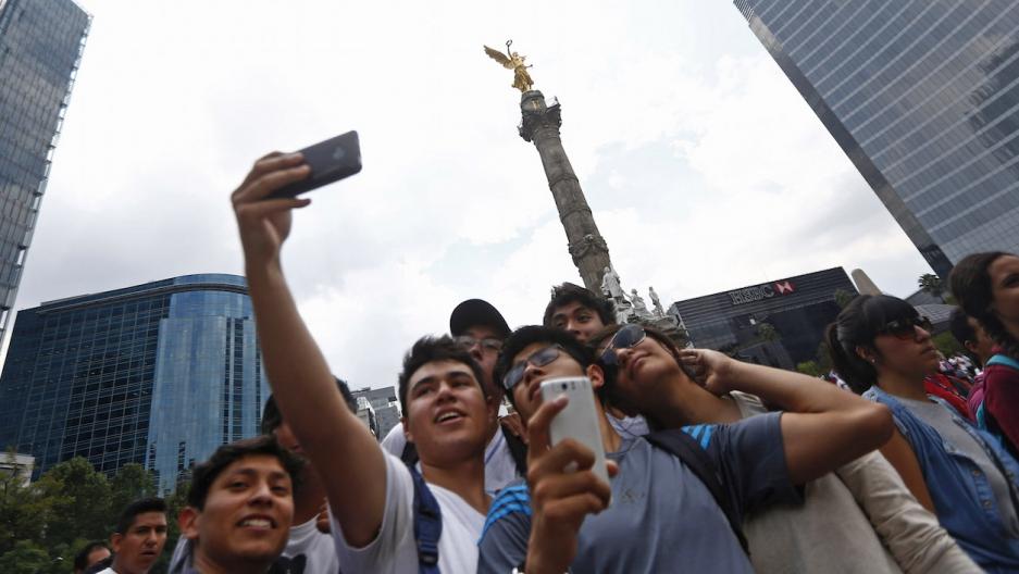 Mexico City selfie