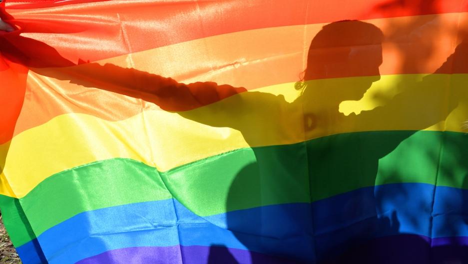 Ukraine gay pride rainbow