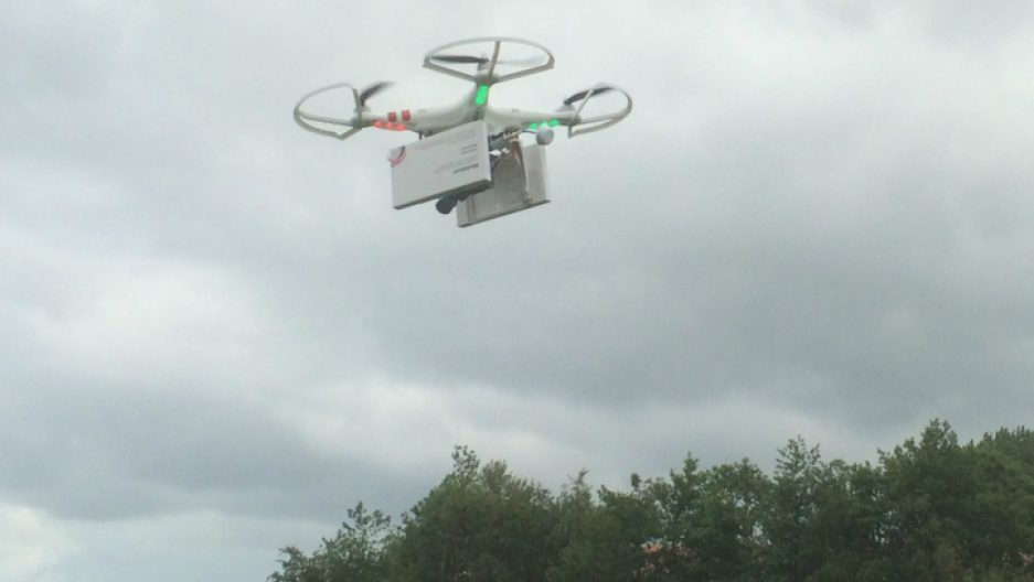 Four women's rights groups will use a drone to deliver abortion pills to Poland.