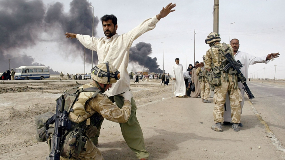 david cameron says iraq war has almost nothing to do with why people