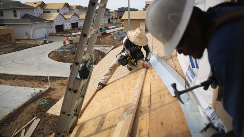 Mexican migrant construction