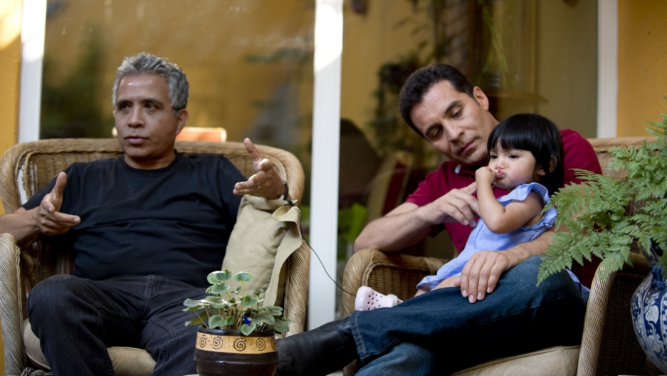 Mexico gay couple adopted child