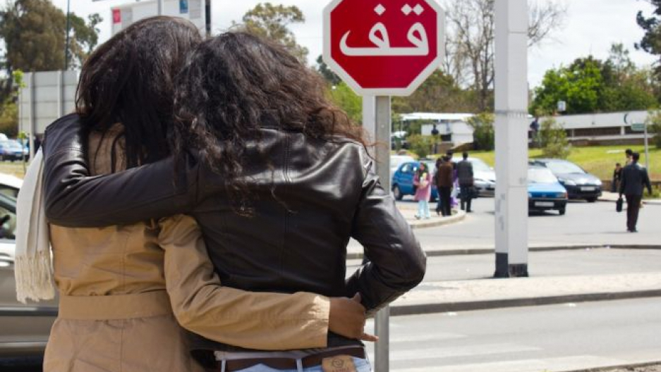 In Morocco, coming out is a choice that could destroy lives. Typical social  behavior for women includes close physical contact, as pictured above, ...