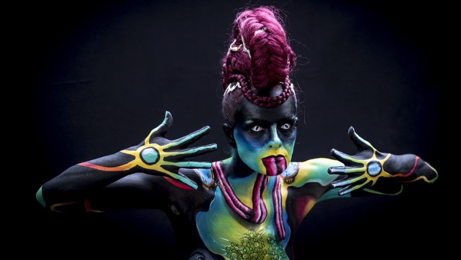 This Bodypainting Festival Proves There S No Better Canvas Than The Human Body Photos The World From Prx
