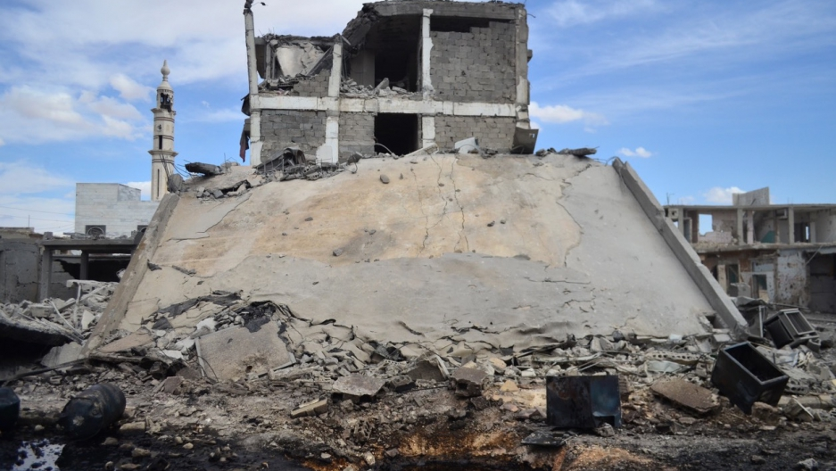 Homs, Syria attacked