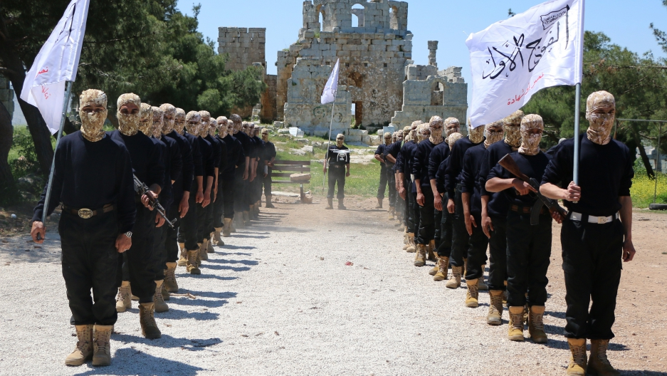 Syrian rebels call for regional alliance against Russia and Iran