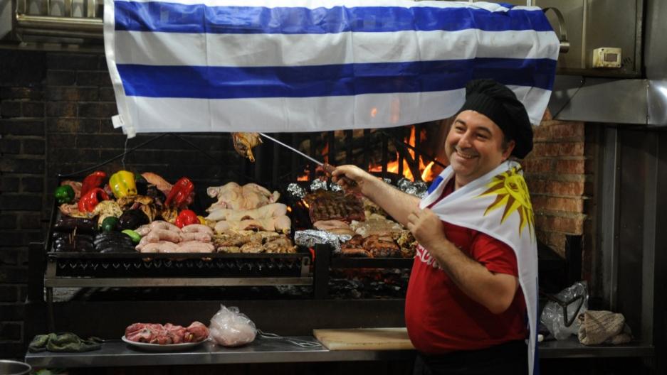 Uruguayan grilling meat