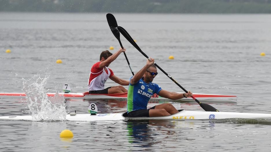 Rio canoeing