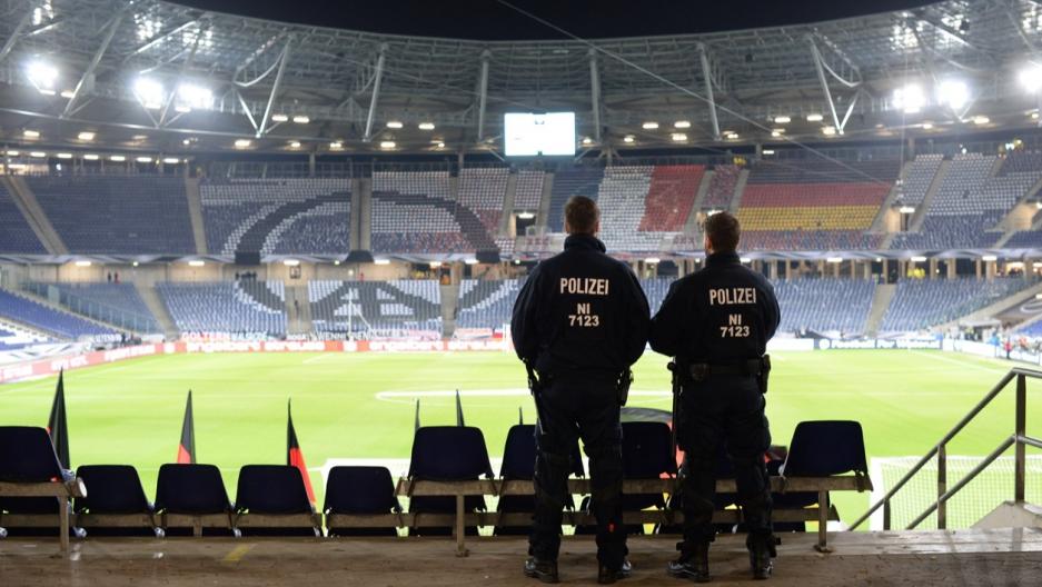 Stadium in Hanover, Germany