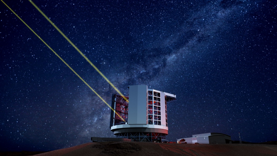 Chile's giant telescope