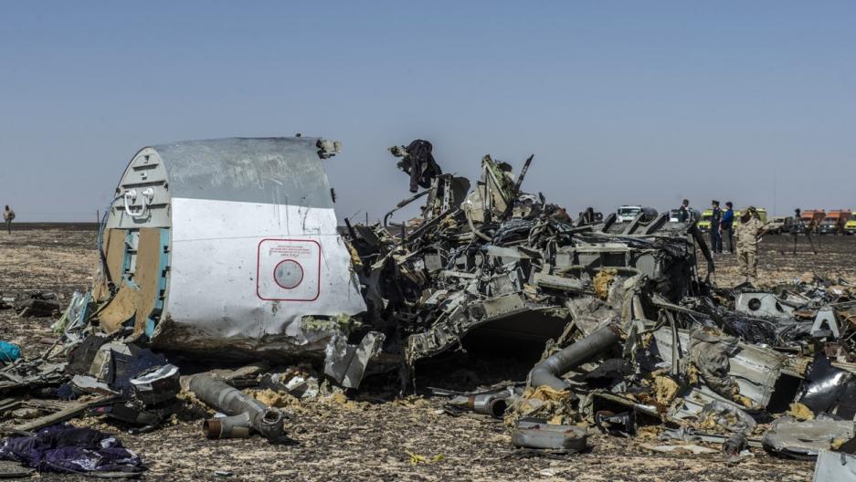 Egypt jet crash