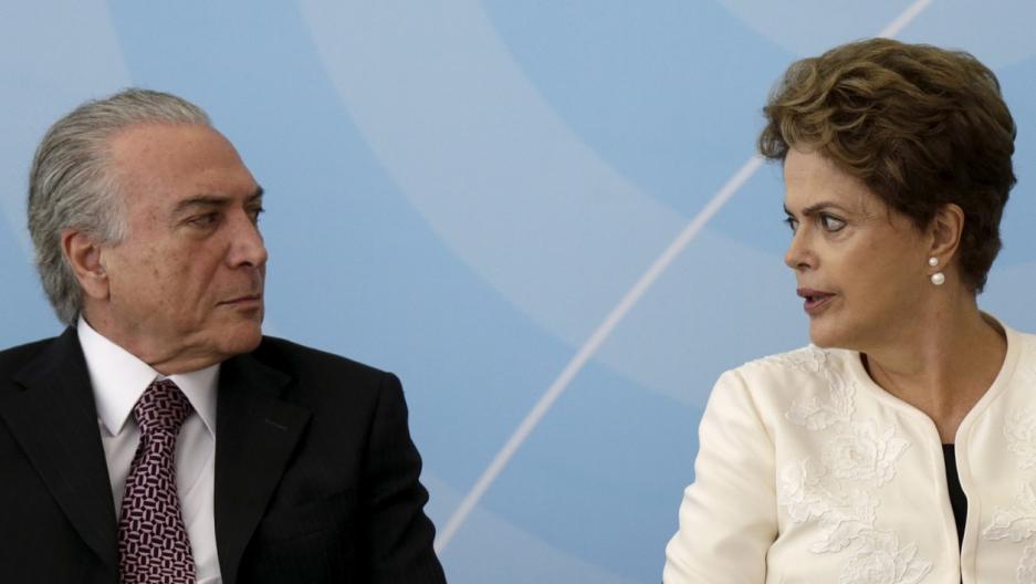 Brazil vice president and president