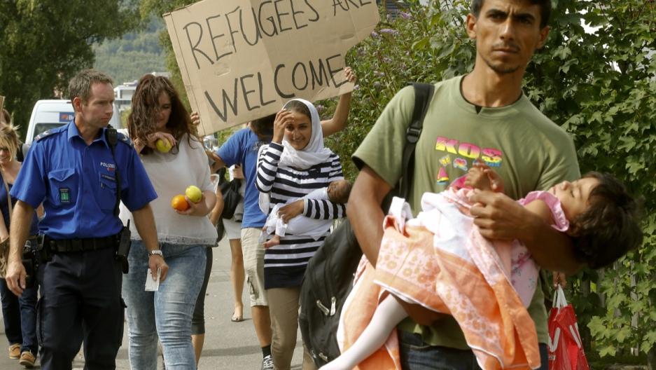 Refugees in Switzerland