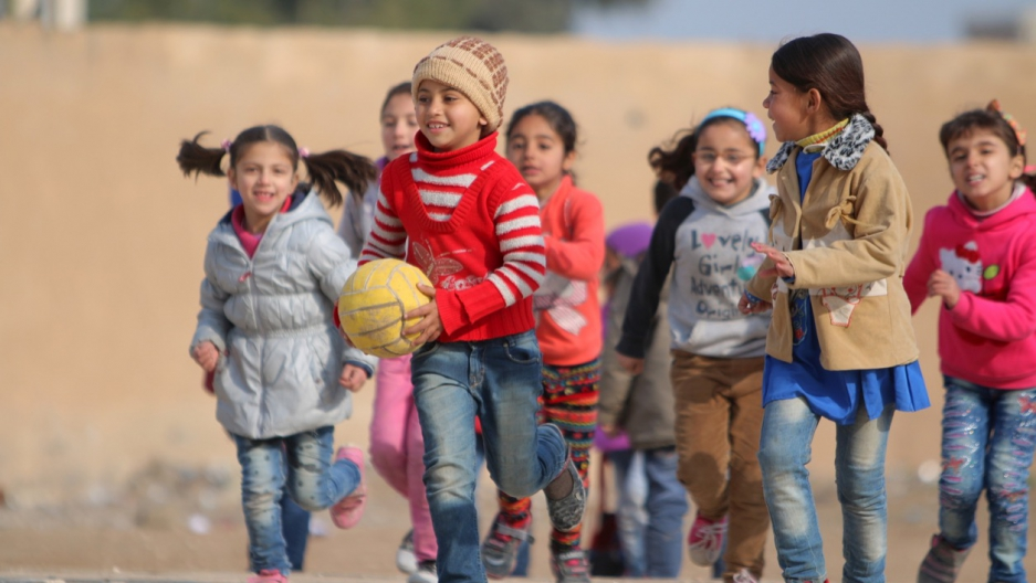 Out-of-School Syrian Children Catch Up With Self-Learning