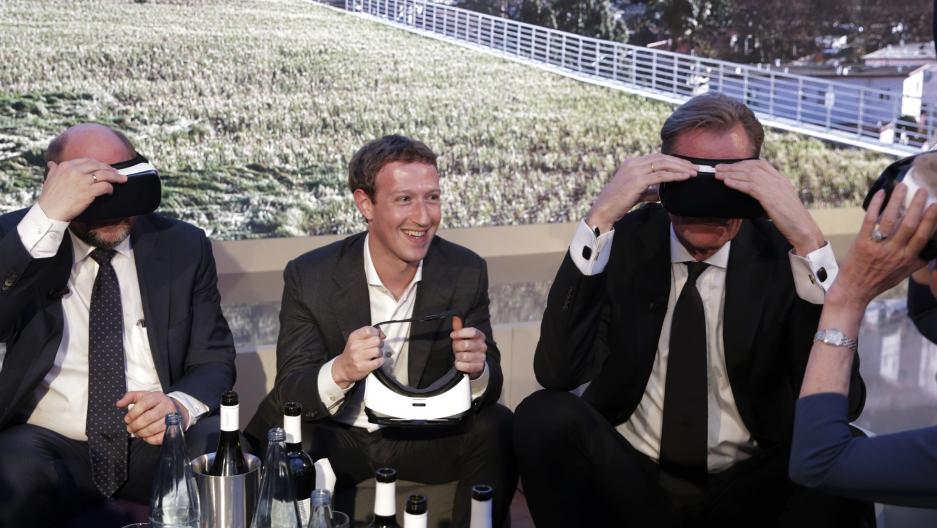 Mark Zuckerberg in Germany