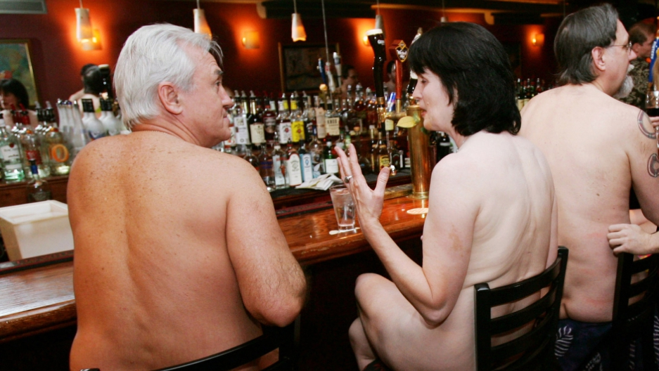 Image result for naked bar