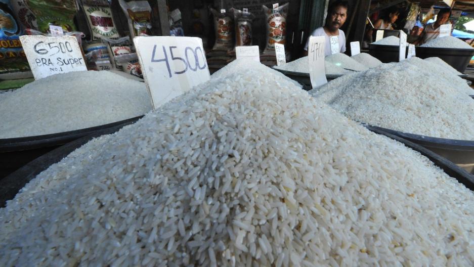 Asian rice crisis