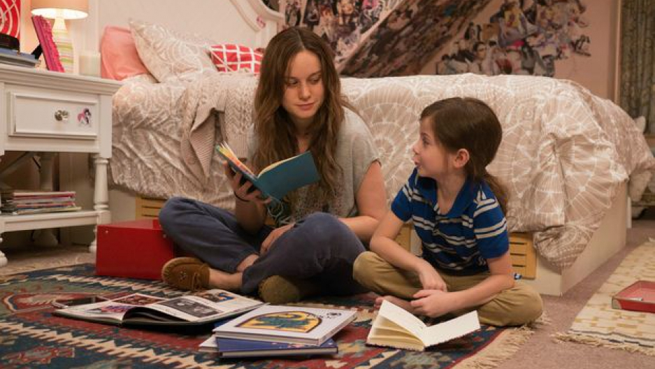 """Brie Larson and Jacob Tremblay in """"Room"""" (George Kraychyk/A24)"""