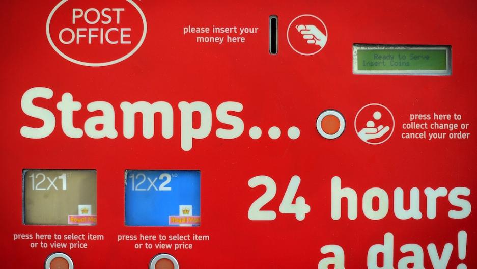 Uk Postal Service Provider Royal Mail Caps Stamp Sales After