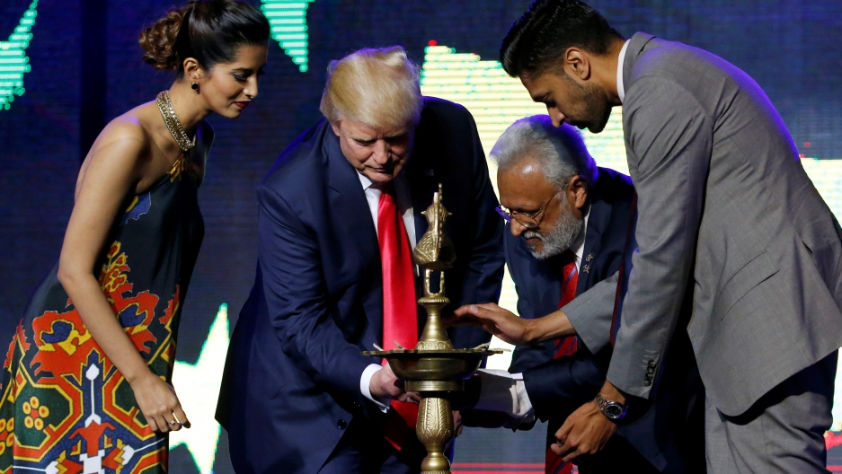 "Donald Trump promised Indian Americans that the US will be ""best friends"" with India."