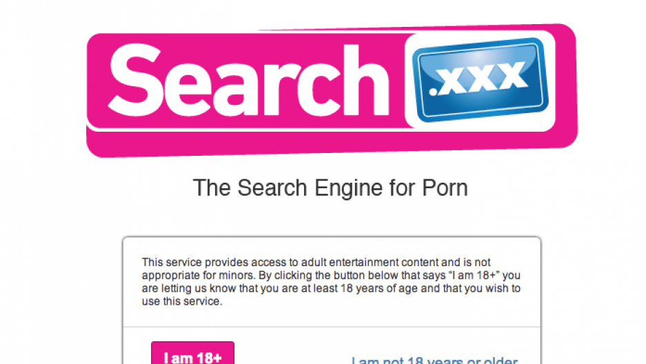 Porn search endines