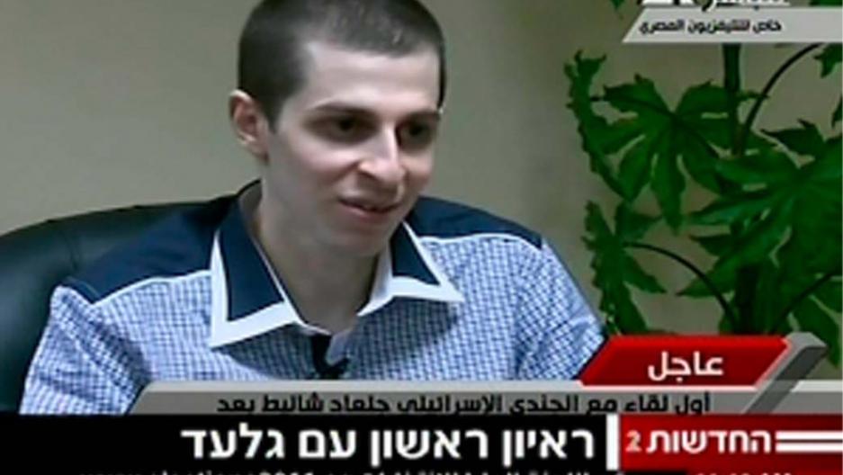 Gilad Shalit back in Israel after prisoner swap (VIDEO