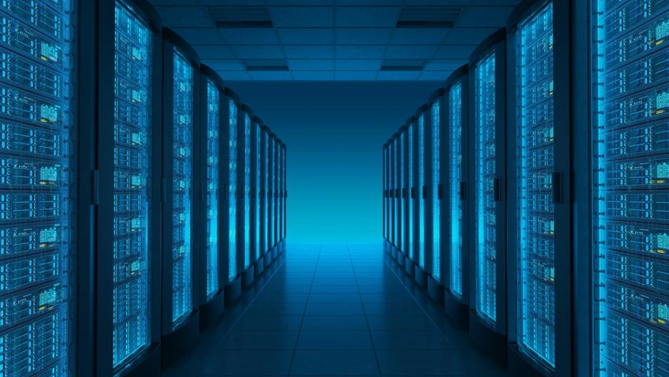Server room, from Shutterstock