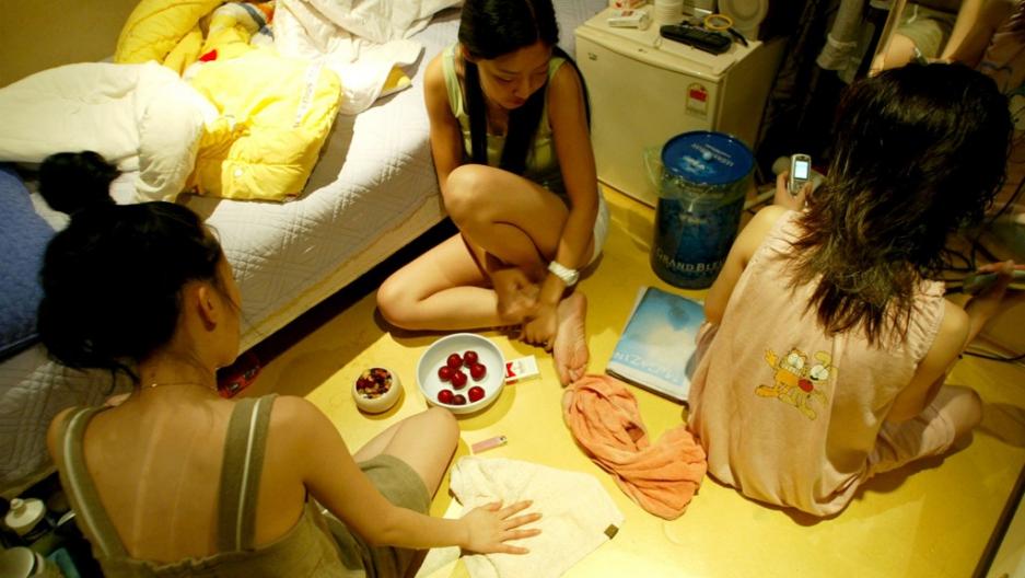 South korean international sex trade