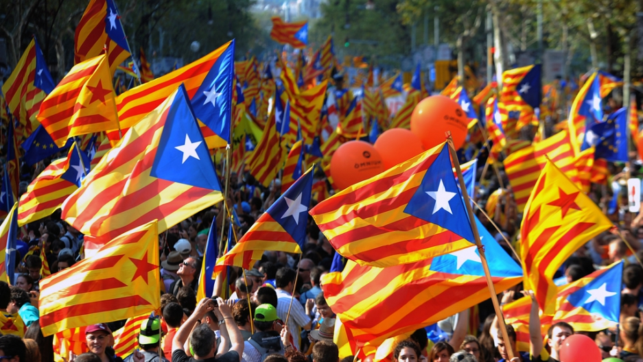 Spain: Catalonia independence rally draws more than a