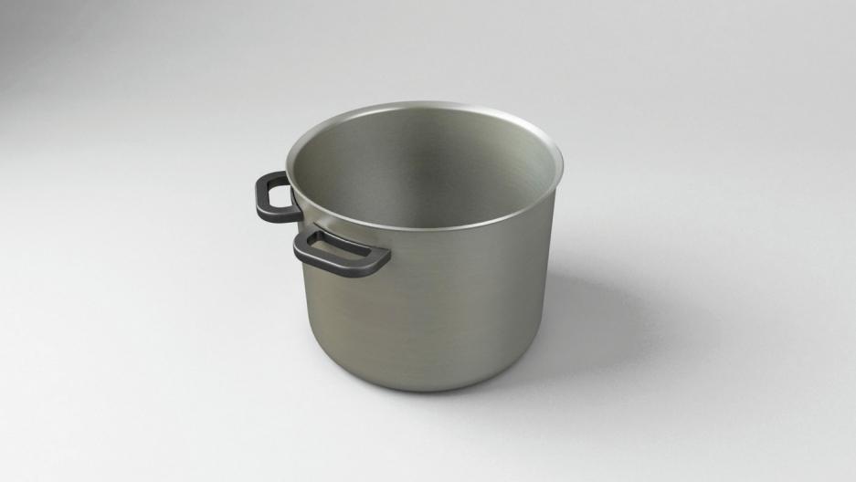 Katerina Kamprani's cooking pot