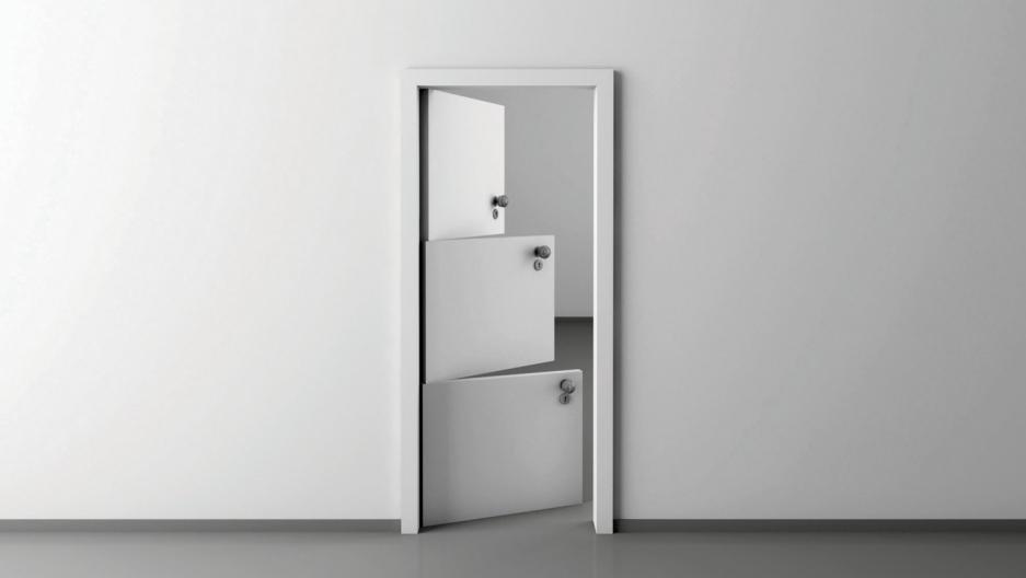 Katerina Kamprani's door
