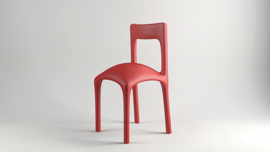 Katerina Kamprani's chair