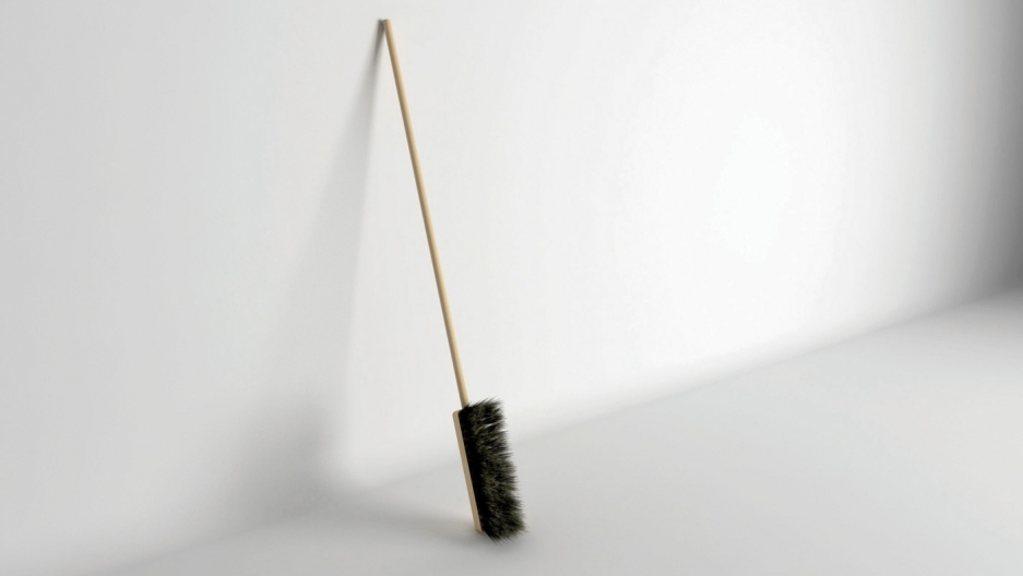 Katerina Kamprani's broom