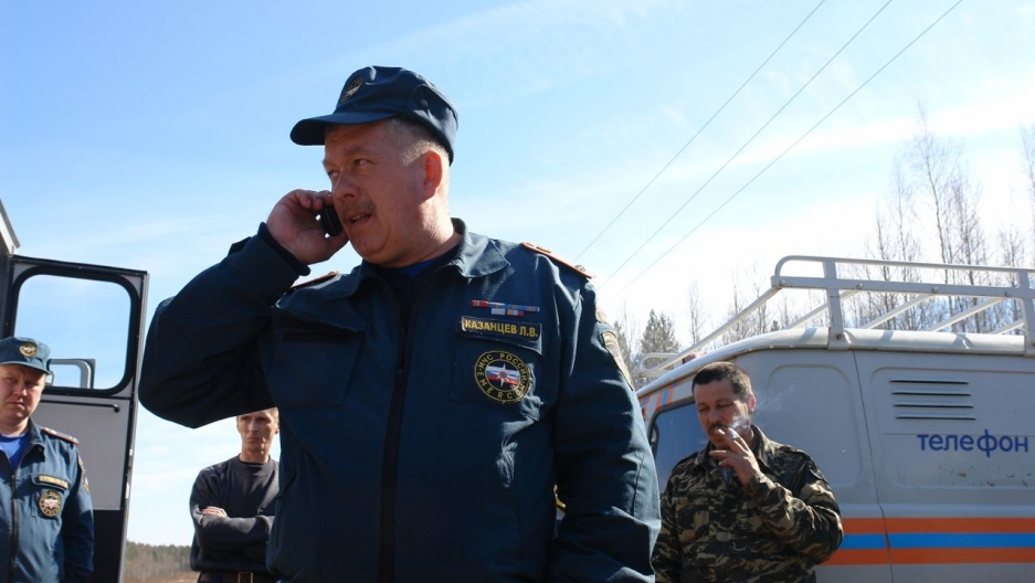 "Leonid Kazantsev, head of the Emergency Situations Ministry, in Serov, Russia. ""We didn't know which direction they flew in. We had to consider a radius of 500 km in every direction."""