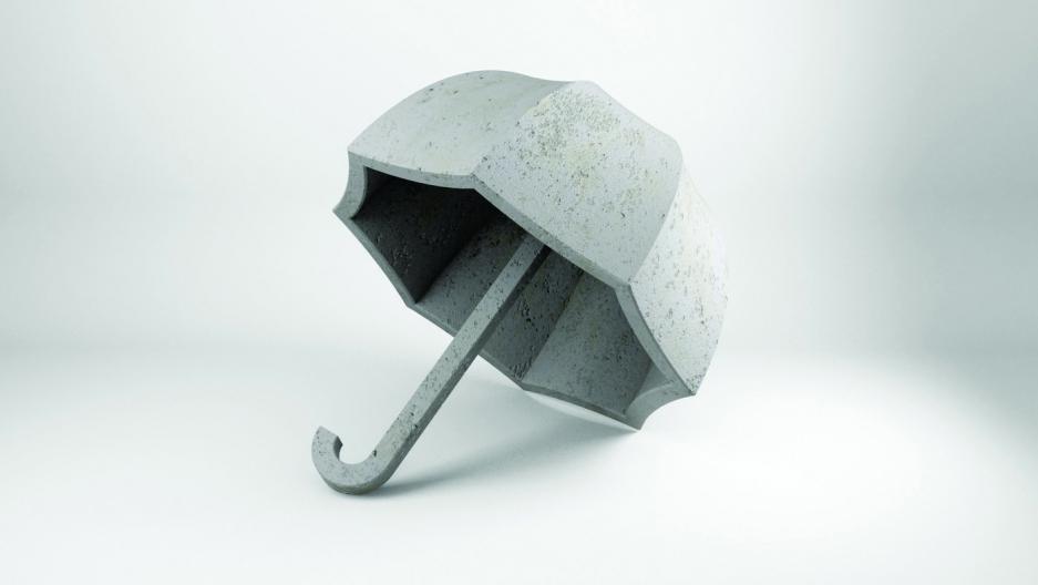 Katerina Kamprani's umbrella