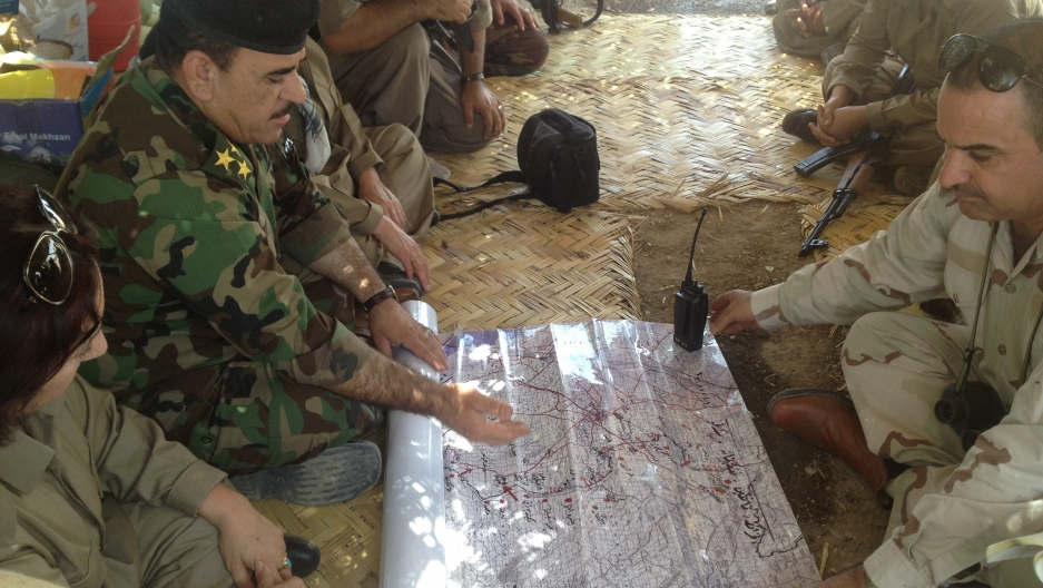Col Nahida gets the latest on the situation in Jalula.