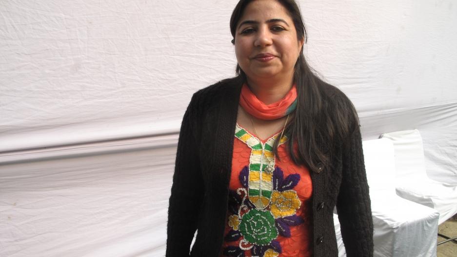 Aruna Kumar, an employee at Delhi University