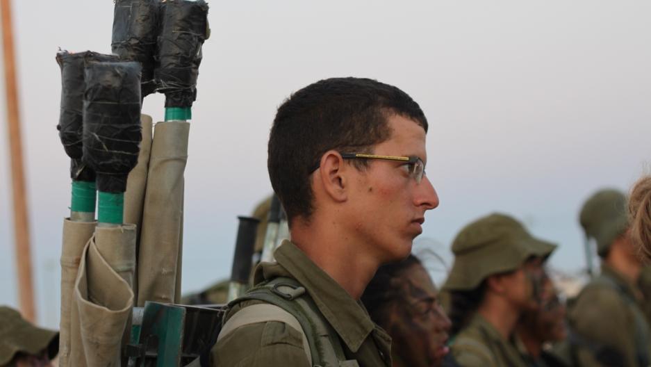 Daniel Zeno, a male soldier in the Caracal unit, says he's not always happy about serving alongside women.