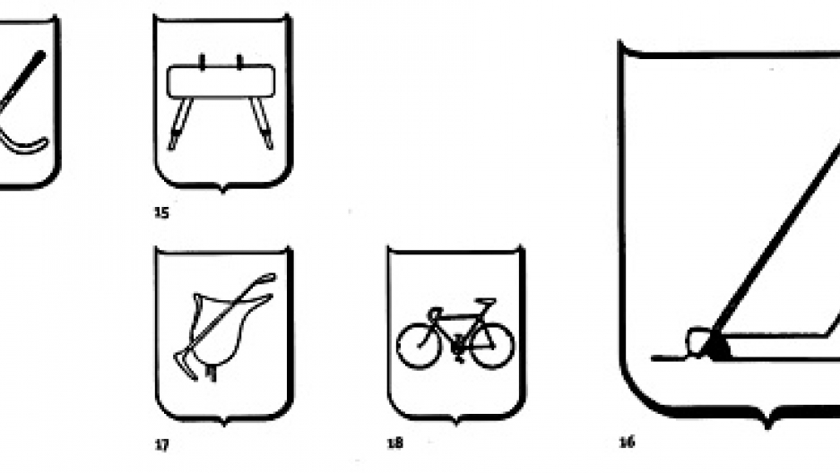 Pictograms from the 1948 Olympic Games in London