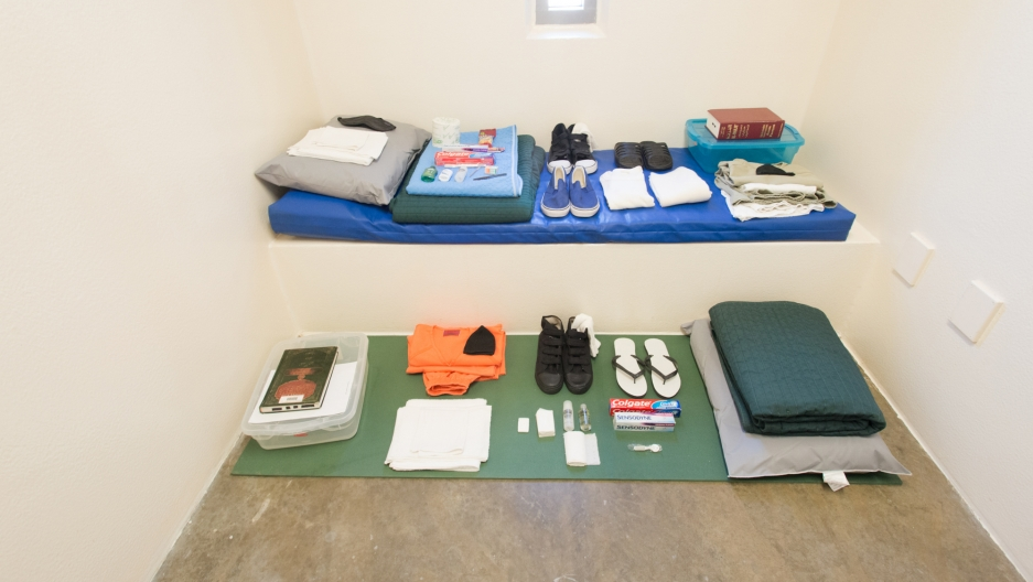 Detainee comfort items from Guantanamo's Camp 5.