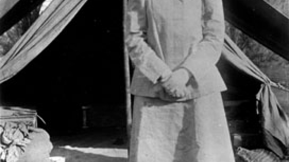 Lawrence's friend and intelligence colleague, Gertrude Bell