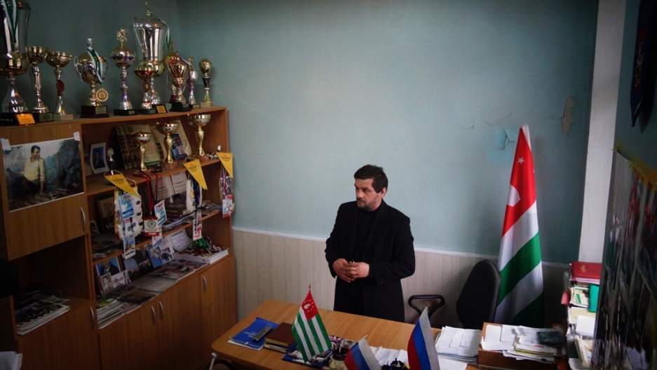 Abkhazia's head wrestling coach Dzharnaz Benia says he dreams of his athletes competing under their own flag. Because only a handful of countries recognize Abkhazia, its athletes usually compete under the flag of the Russian Federation when they go abroad
