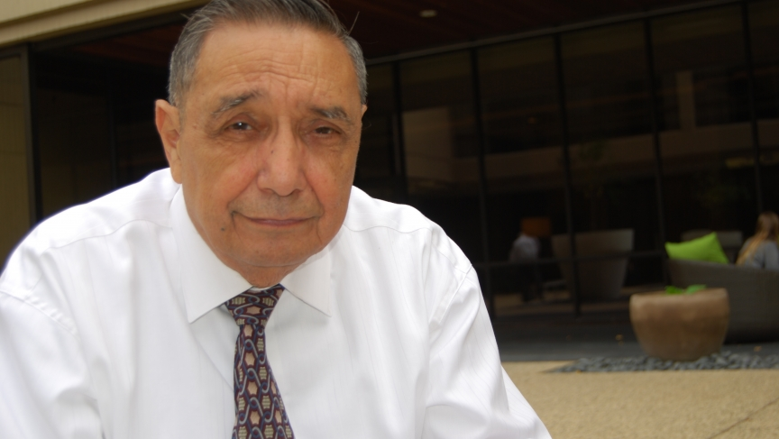 Frank Urteaga, in Houston, was among the few hundred who heard JFK speak the night before he was killed.