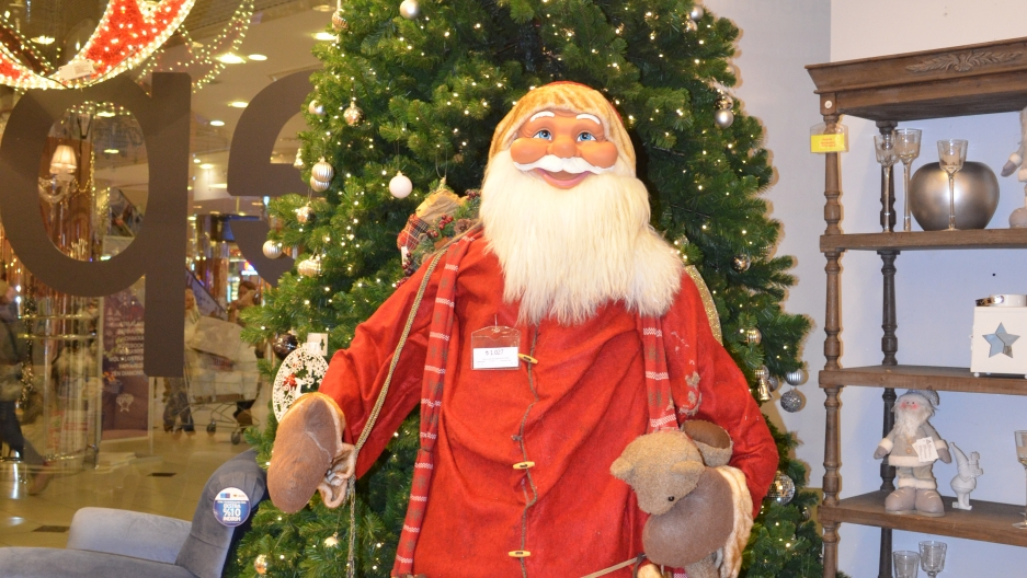 """In Turkey, Santa Claus is known as """"Noel Baba"""", meaning """"Father Christmas."""""""