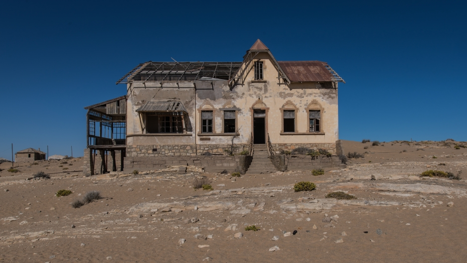 In its heyday, Kolmanskop was home to some 700 German families