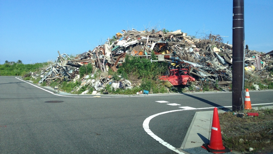 The Japanese government says clean up wont be finished in Tomioka until 2017.